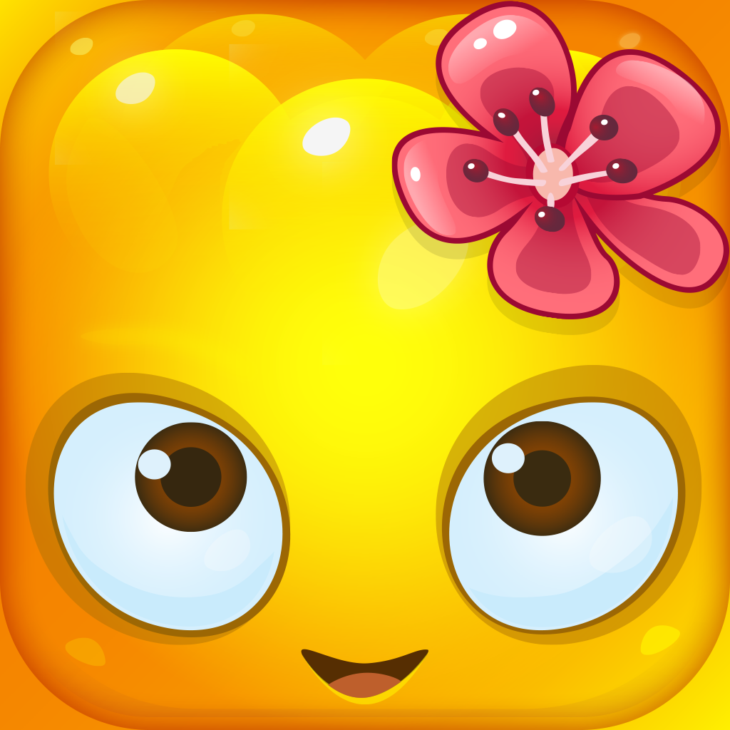 【ios app】jelly splash 弹力十足~可爱有劲的果冻消